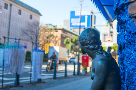 sightseeng: Yokohama town scene
