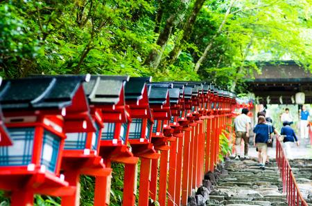 貴船神社、京都、日本
