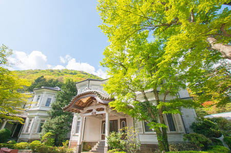 famous industries: Hakone Fujiya hotel,kanagawa,japan Editorial