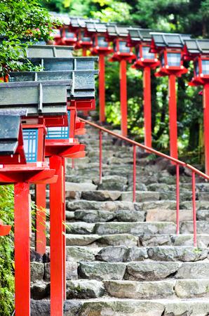 shrine: Kibune shrine,kyoto,japan