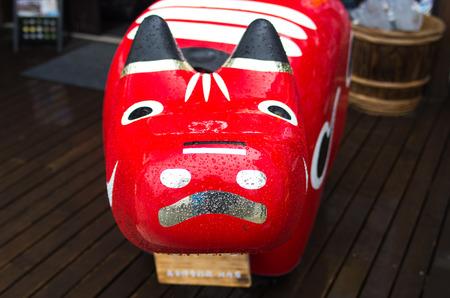 fukushima: red cow doll,fukushima,tourism of japan