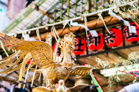 神輿、東京、日本