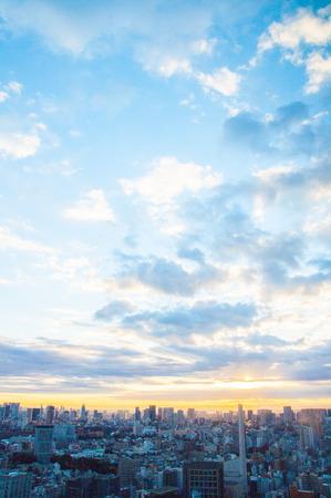 東京市朝成長ビュー、日本