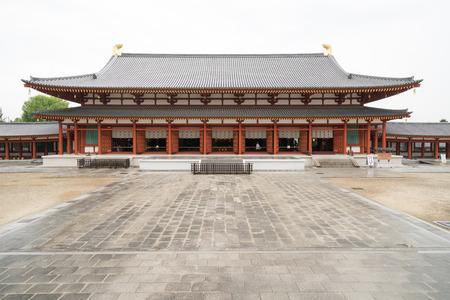 薬師寺寺、奈良、日本 報道画像