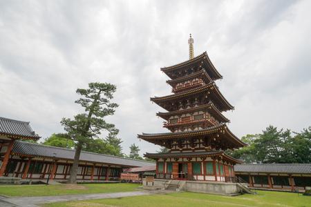 nara: Yakushiji temple,nara,japan Editorial