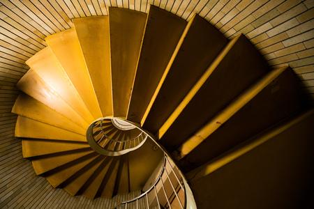 銀座の螺旋階段、東京、日本