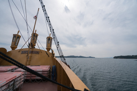 sightseeing boat,iseshima area,mie prefecture,tourism of japan 報道画像