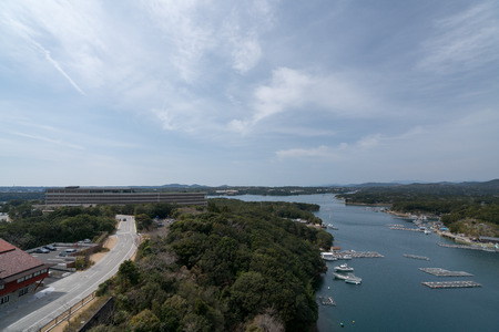 The place of 42nd G7 summit,Iseshima area,mie prefecture,japan 写真素材