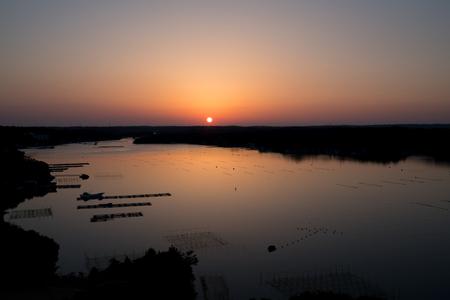 前湾日の出時刻、伊勢志摩エリア、三重県、日本の観光
