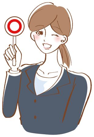 Female Correct answer  Illustration Woman