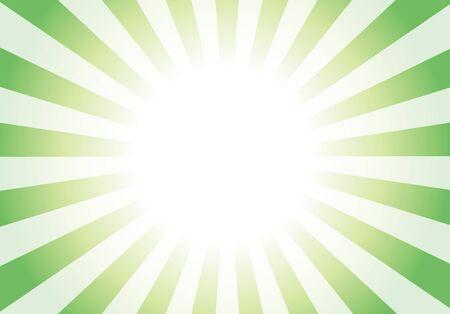 Green radial background light vector 向量圖像