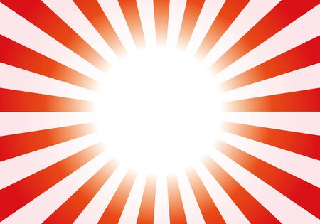 Red radial background light vector