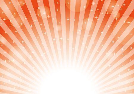 Red radial background light glitter