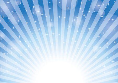 Blue radial background light vector 向量圖像