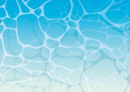 Water surface sea summer illustration