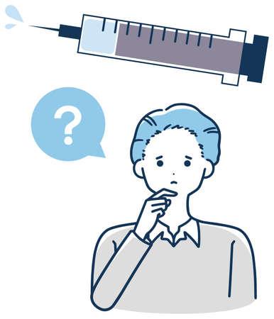 Vaccination, vaccination Men worried