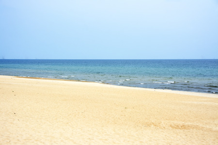 Beautiful Beach of  Lake Malawi on a Clear Summers Day