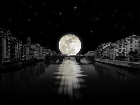 달 빛의 강