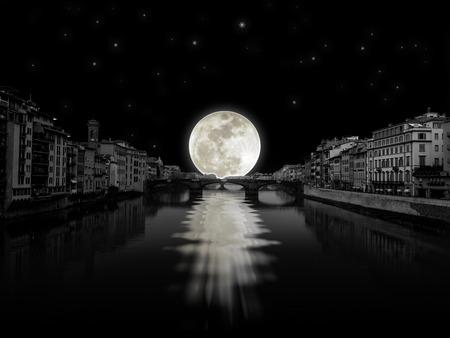 Moon light rivers