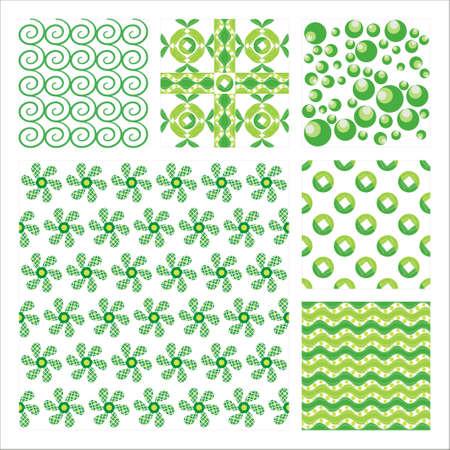 Raccolta di sei Pattern.Background trama senza soluzione di continuit�