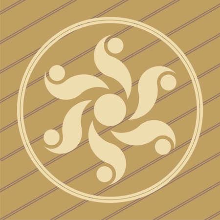 cultivo de trigo: cultivo ufo dise�o c�rculos en campos de trigo  ma�z