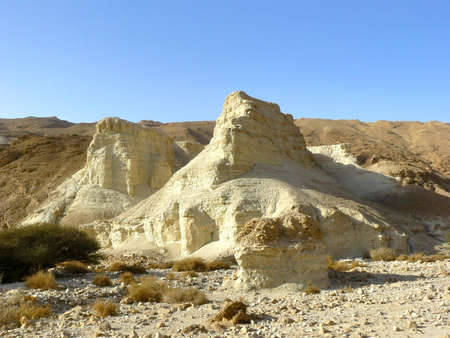 judean desert: Judean Desert - a desert in the Middle East, located on the territory of Israel, on the west coast of the Dead Sea. Stock Photo