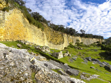 lasted: Kuelap Fortress,Chachapoyas, Amazonas, Peru. Kuelap (Kuélap) - Fortress Chachapoyya civilization, conquered the Incas. It was built in the X century and lasted until around XVI century. Located in the Amazonas region in Peru.