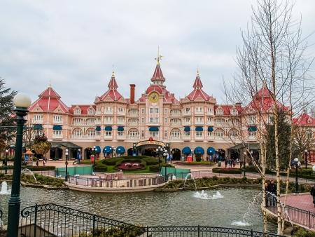 castles needle: Disneyland Paris