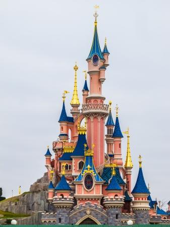 castles needle: Disneyland castle