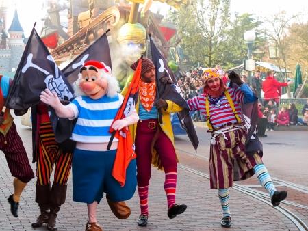 disneyland: Parade in Disneyland Paris Editorial