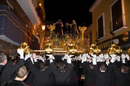 extol:  a pulse, the throne of Saint Transfer Malaga Holy Week