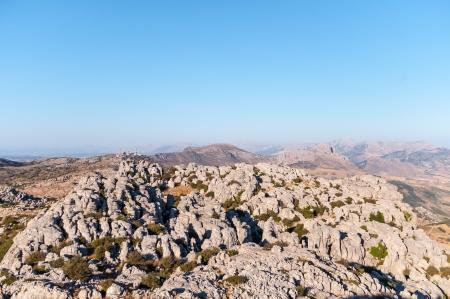 karst: Karst landscape, Torcal Antequera