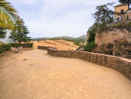 guardrail: Tajo of Ronda surroundings