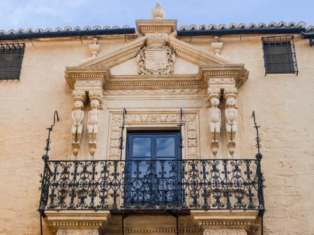 Facade, Palace Marques de Salvatierra, in Ronda