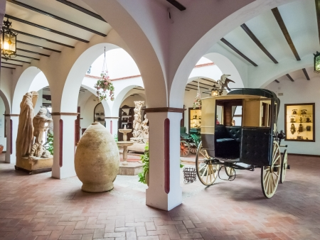 Buggy, a museum of Ronda Stock Photo - 16266959