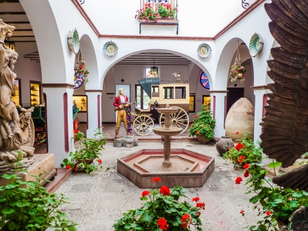 andalusian: Patio Andaluz in Ronda Museum