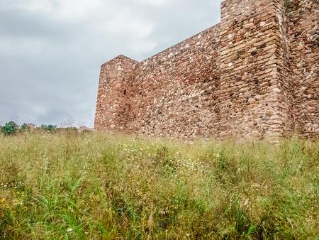 alcazaba: Exterior of the Alcazaba in Malaga