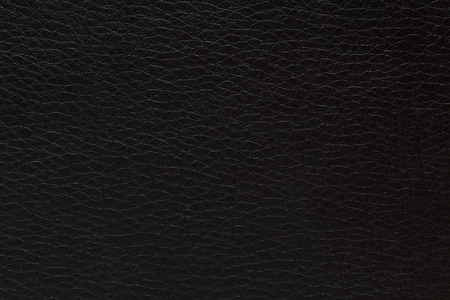 leatherette: texture of black leatherette Stock Photo