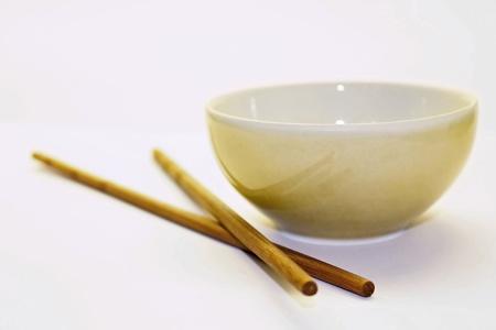 chinesse: Chinese chopsticks with small dish