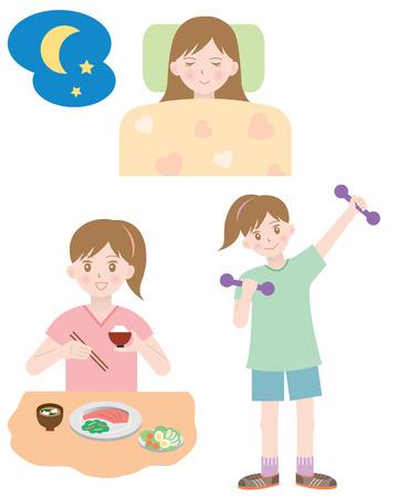 健康的な生活