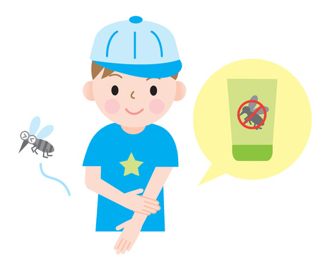 mosquito bite: insect repellent kids