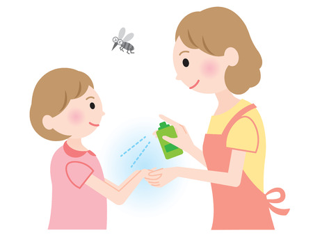 insect repellent: insect repellent spray