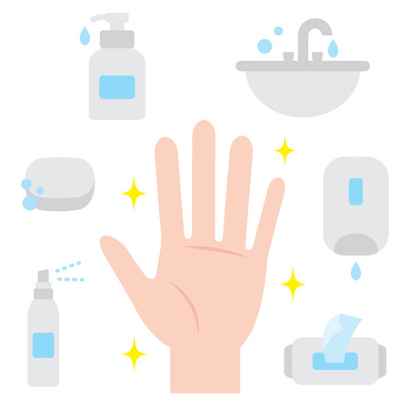 ways to keep hand clean. hand hygiene