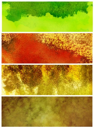Grunge textures, banners. Stock Photo