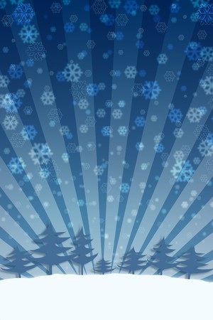 Christmas background. Stock Photo - 7952362