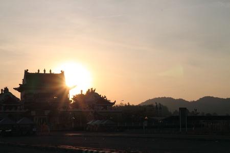 The beautiful sunrise photo