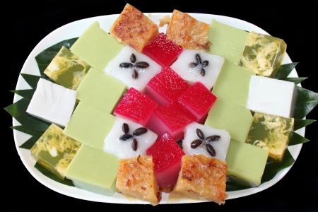 sweetmeats: The prefix of making some nouns into the sweetmeats eaten in Thailand
