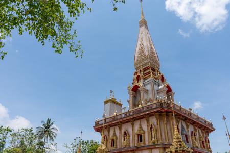 Wat Chalong a landmark temple of Phuket province