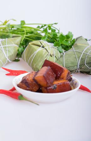chinesisch essen: Geschmorte Schweine Lizenzfreie Bilder