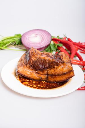 braised: Braised Pork Stock Photo
